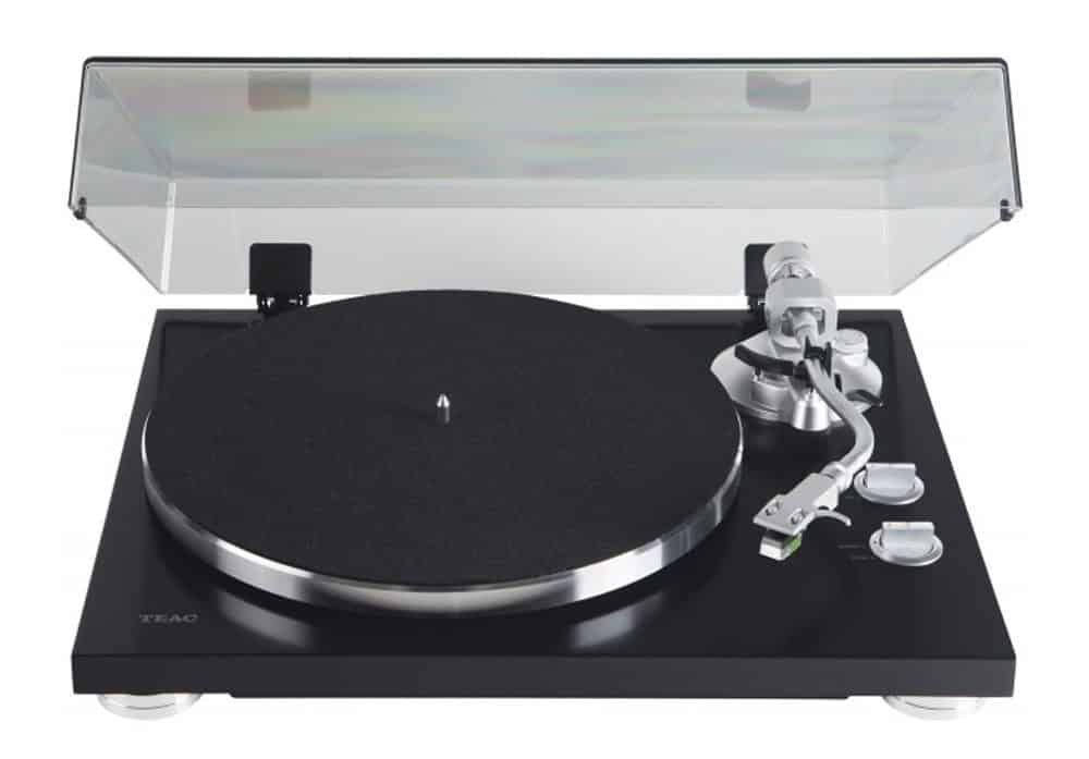 TEAC TN-400S Belt-Driven Turntable with S-Shaped