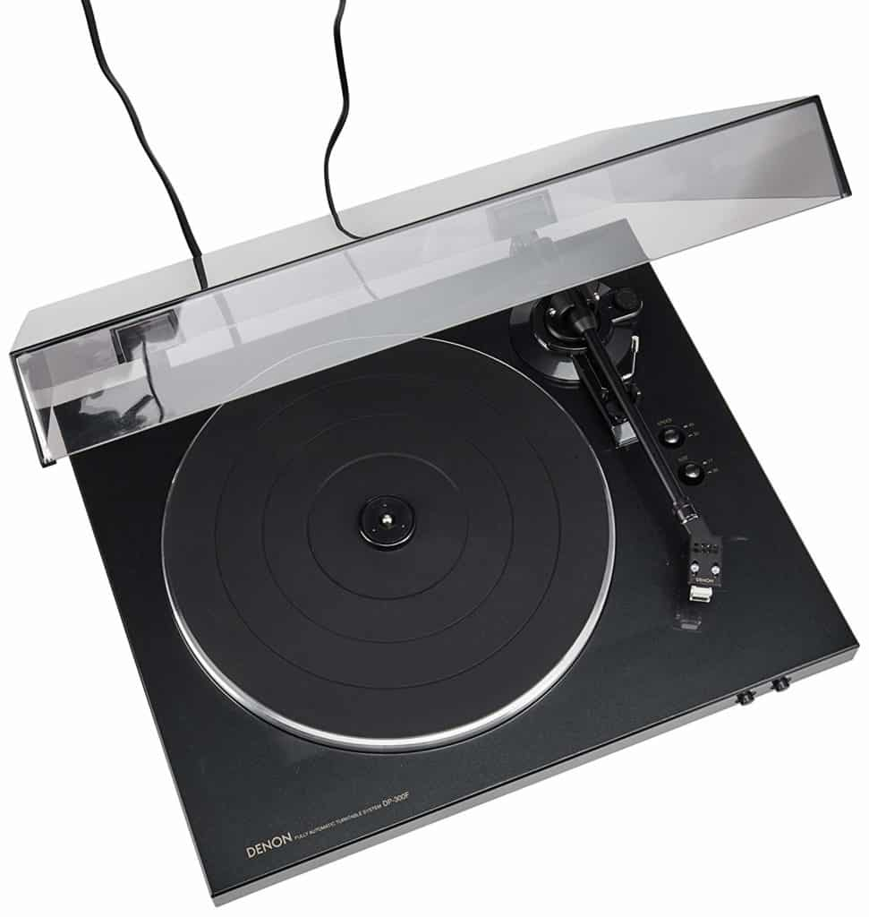 Denon DP-300F Fully Automatic Analog Turntable with Built-in Phono Equalizer