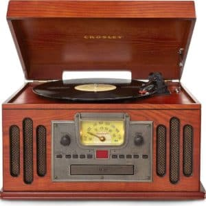 2. Crosley CR704D-PA Musician Turntable - Best for Versatility