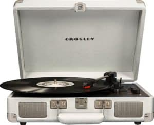 5. Crosley CR8005D-WS Cruiser Deluxe Turntable - Best for Portability​