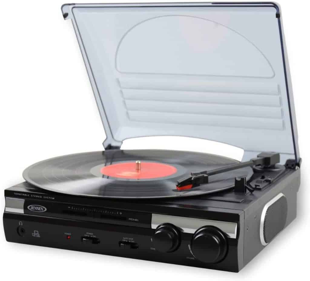 Jensen JTA-230 Turntable With Built-in Speakers