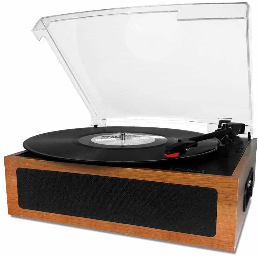 LP&No.1 Vintage Vinyl Record Player