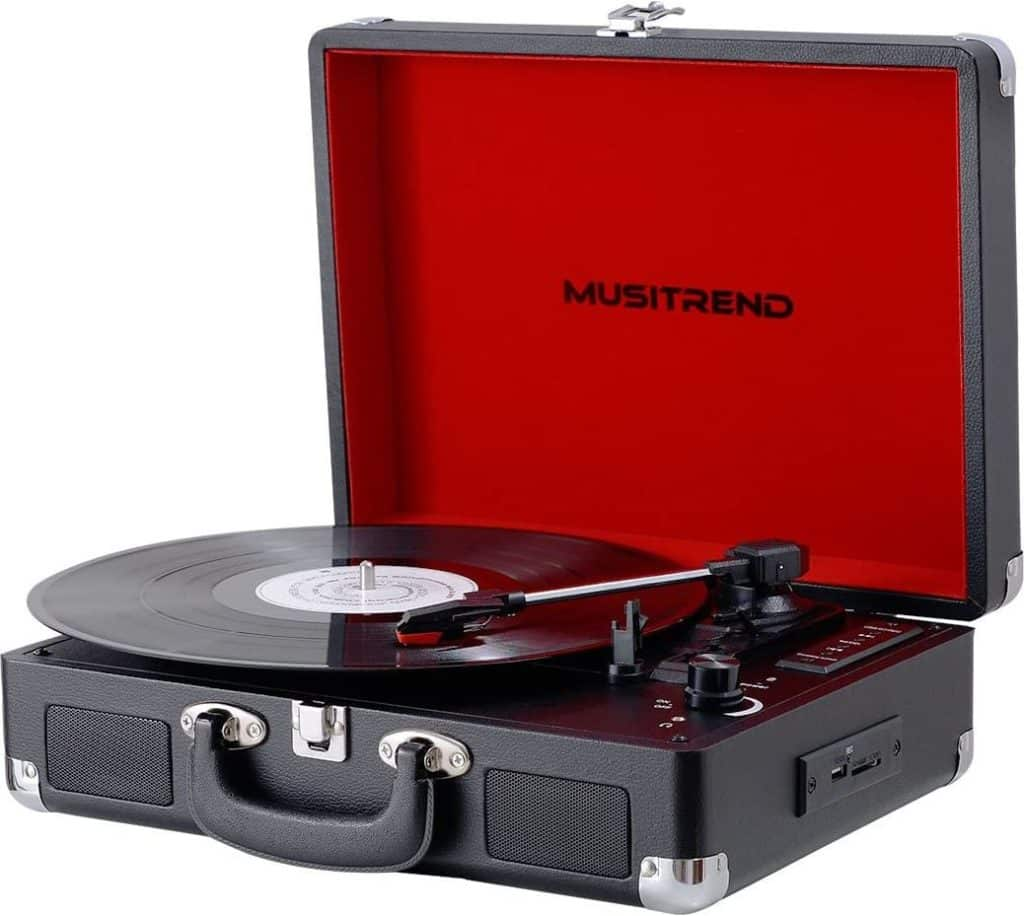 Musitrend Vinyl Records Player