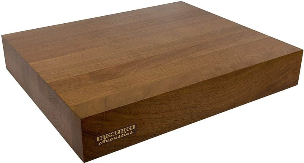 3. Butcher Block Acoustics Audio Isolation Platform​