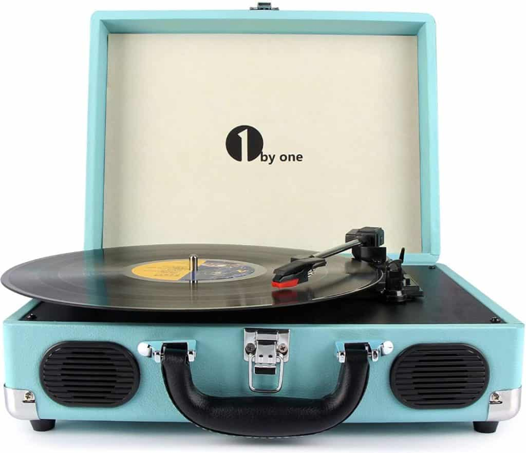1byone Portable Stereo Turntable ​