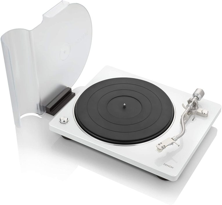 Denon DP-400 Semi-Automatic Analog Turntable - Best Of Feature