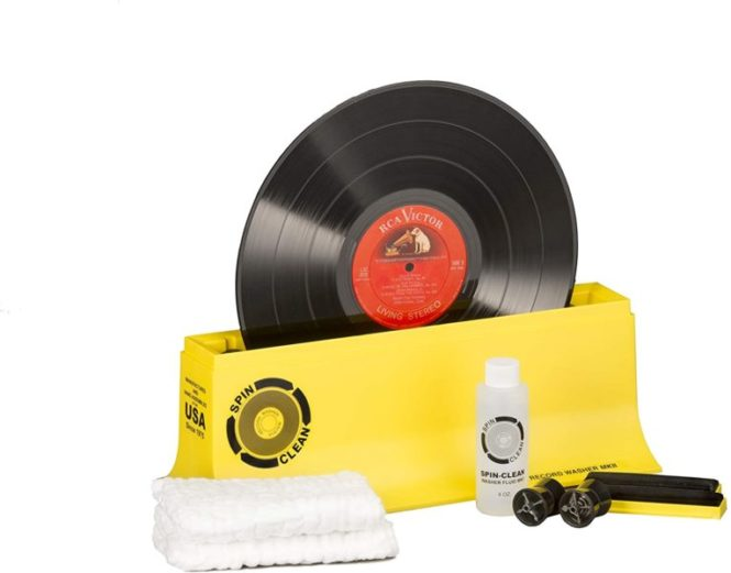 Record Washer System by Spin-Clean