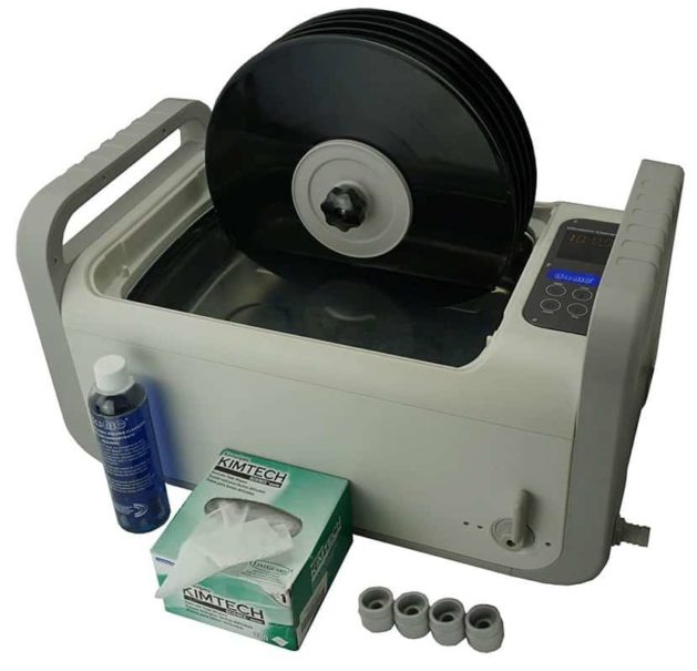 iSonic P4875-NH or P4875II-4T-NH Ultrasonic Vinyl Record Cleaner