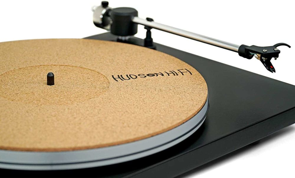 CoRkErY Recessed Turntable Platter Mat