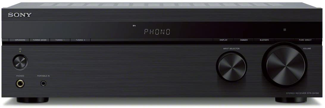 Sony STR-DH190 Receiver - Best for durable