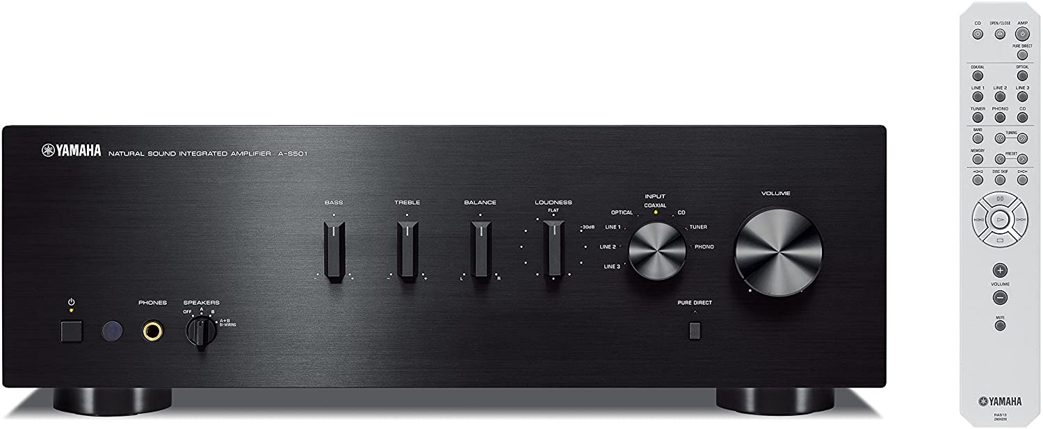 Yamaha A-S501BL- Solid Amp With Clean Sound For Home Use